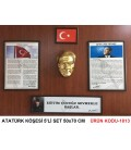 ATATÜRK KÖŞESİ 5'Lİ SET BÜYÜK BOY 50X70 CM