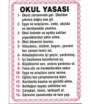 OKUL YASASI 35X50