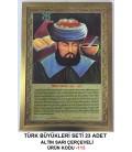 TÜRK BÜYÜKLERİ SETİ 23 ADET