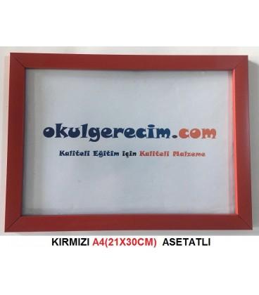A4(21X30) EBAT ÇERÇEVE TAKMATİK (CAMLI)