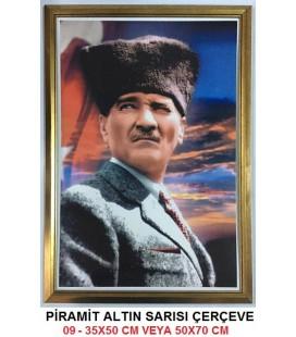 ATATÜRK RESMİ 09 (ÇERÇEVELİ)