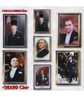 35X50 CM ÇERÇEVELİ ATATÜRK RESİMLERİ