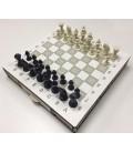 Satranç Takımı Çekmeceli Ahşap 30X30 CM