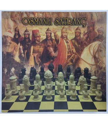Osmanlı Satranç Takımı (Kutulu) 40x40 CM