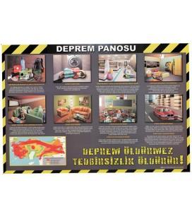 DEPREM PANOSU 70X100 (RESİMLİ)