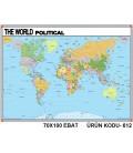 Dünya Siyasi Haritası İNGİLİZCE
