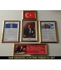 Atatürk Köşesi 3'Lü Set Ve 5'Li Set