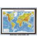 Dünya Siyasi ve Fiziki Haritası